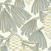 Harlequin Foxley Platinum/ Gold Wallpaper - Product code: 112128