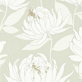 Harlequin Sebal Earth/ Silver Wallpaper - Product code: 112129