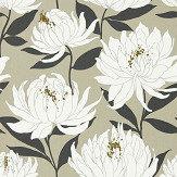Harlequin Sebal Platinum\ Ebony Wallpaper - Product code: 112130