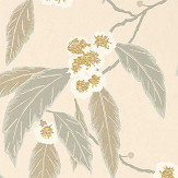 Harlequin Coppice Powder/ Truffle/ Gilver Wallpaper - Product code: 112135