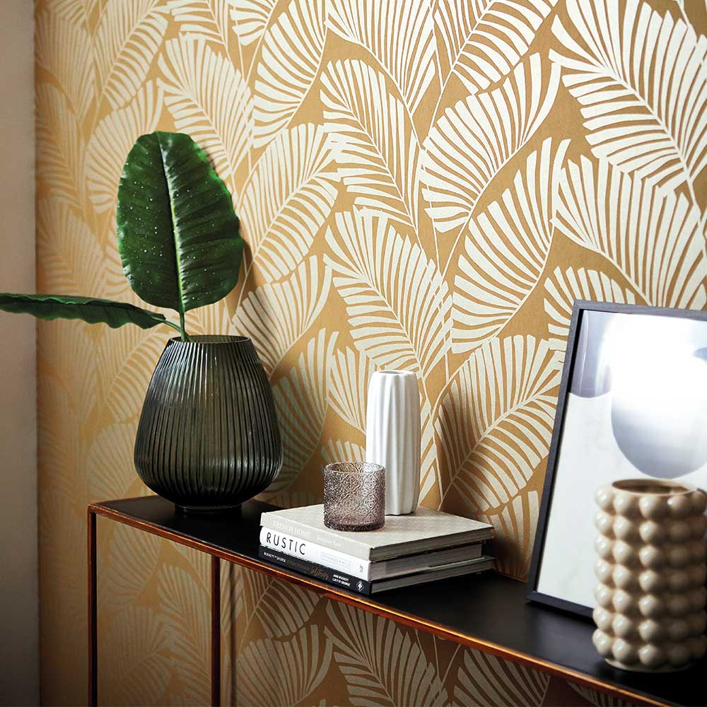 Harlequin Mala Ochre Wallpaper - Product code: 112138