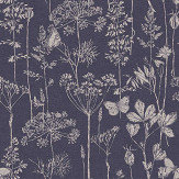 Arthouse Meadow Floral Indigo Wallpaper - Product code: 904108