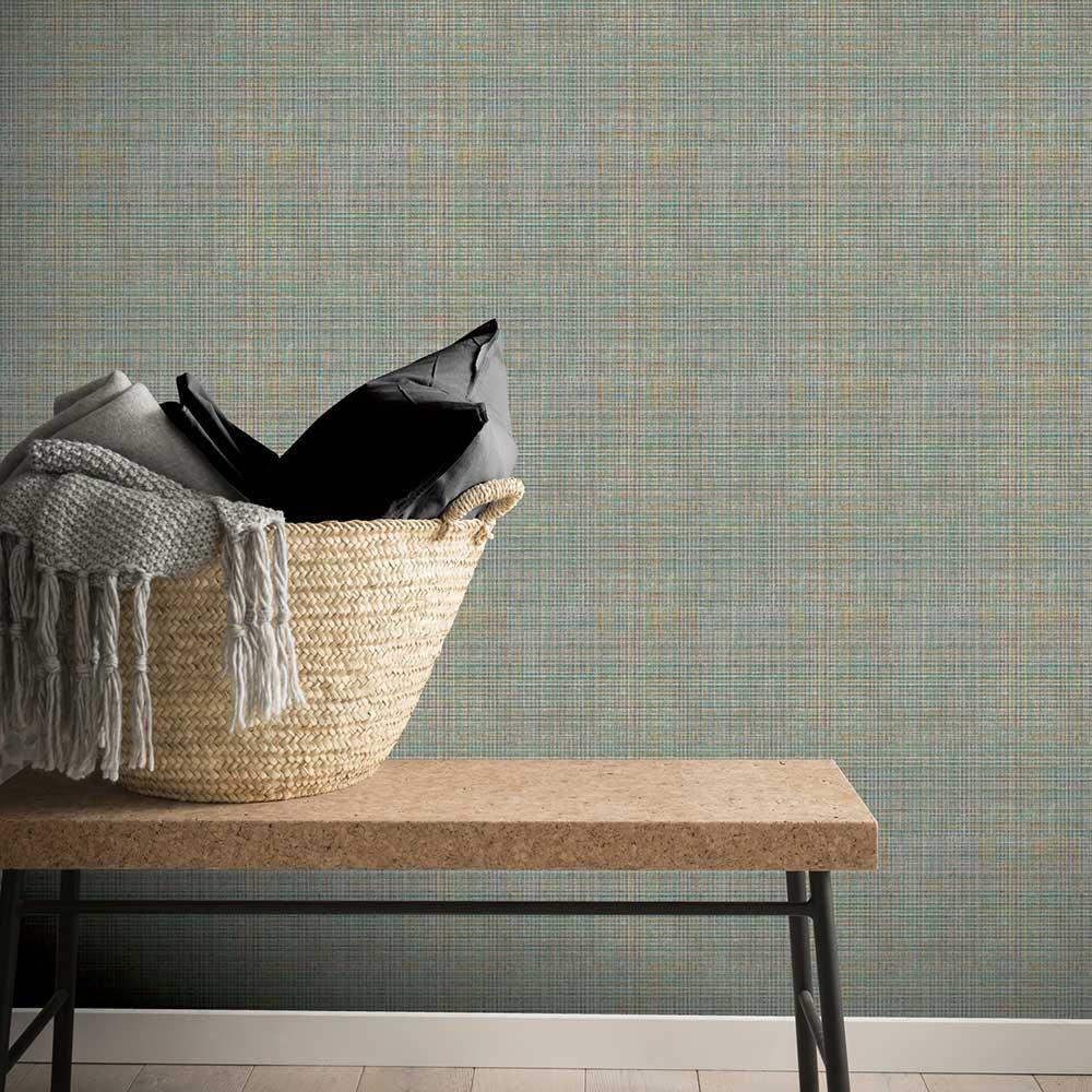 Arthouse Tweed Green Wallpaper - Product code: 904201