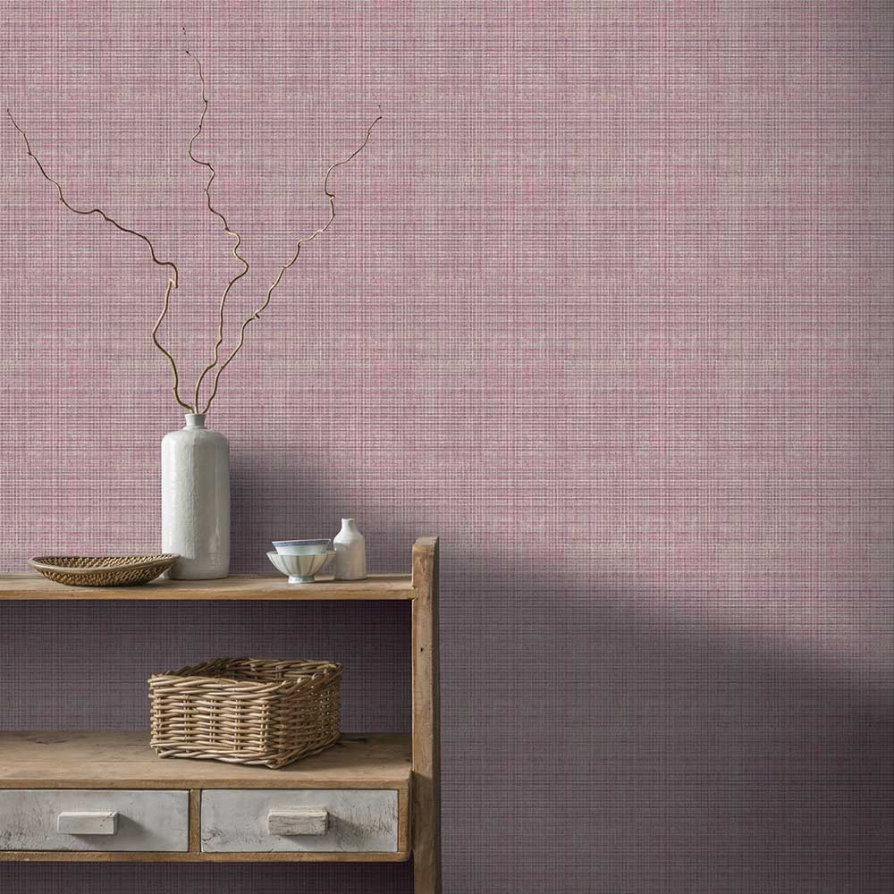 Arthouse Tweed Plum Wallpaper - Product code: 904202