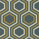 Harlequin Selo Ebony and Gold Wallpaper - Product code: 112149