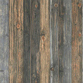 Albany Knotted Wood Blue / Brown Wallpaper - Product code: 9086-12