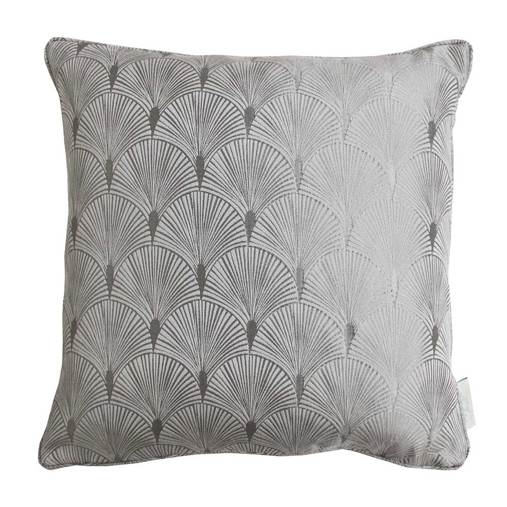 The Chateau by Angel Strawbridge The Chateau Blakely Cushion Silver - Product code: BLK/SIL/04343PI