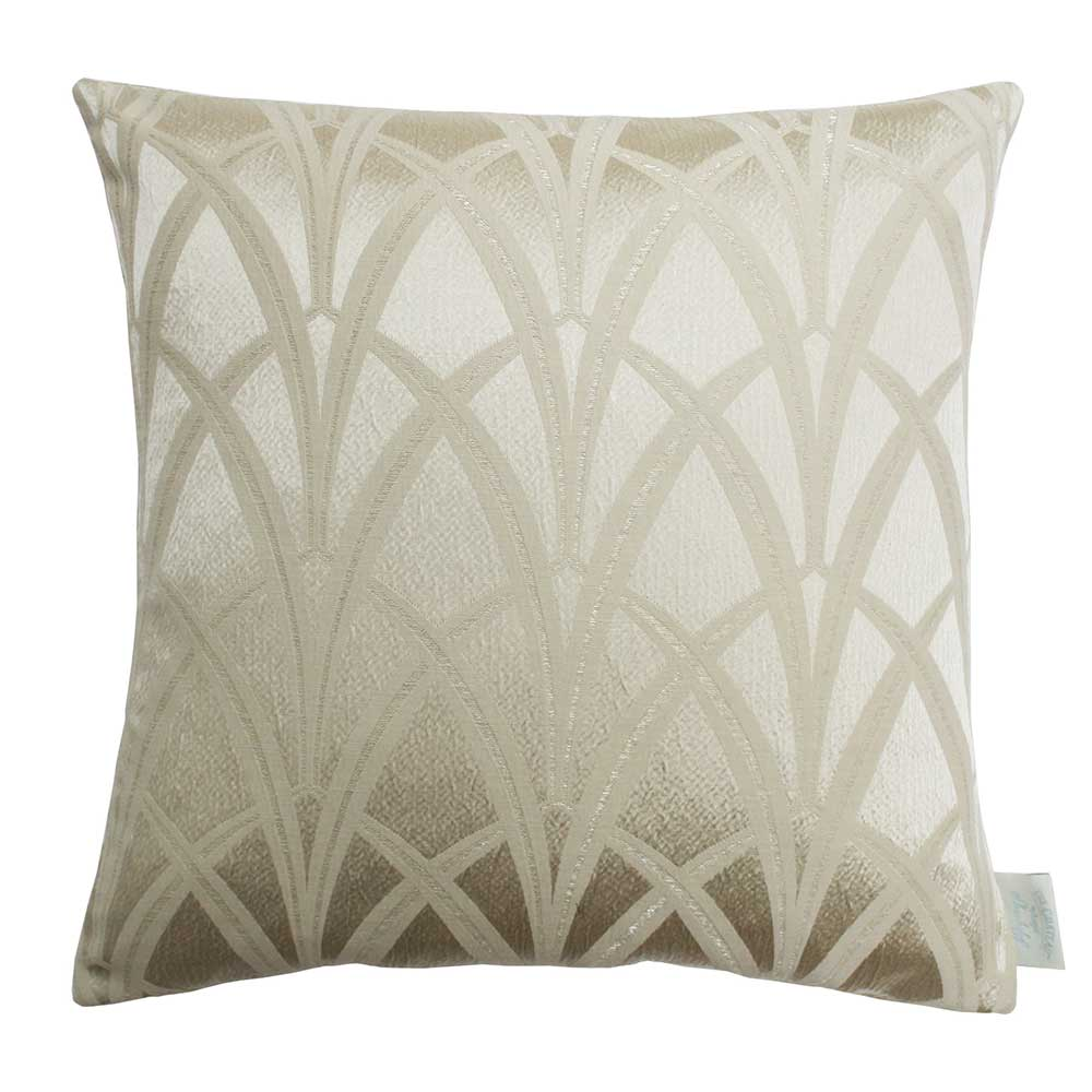 The Chateau Broadway Cushion - Gold - by The Chateau by Angel Strawbridge