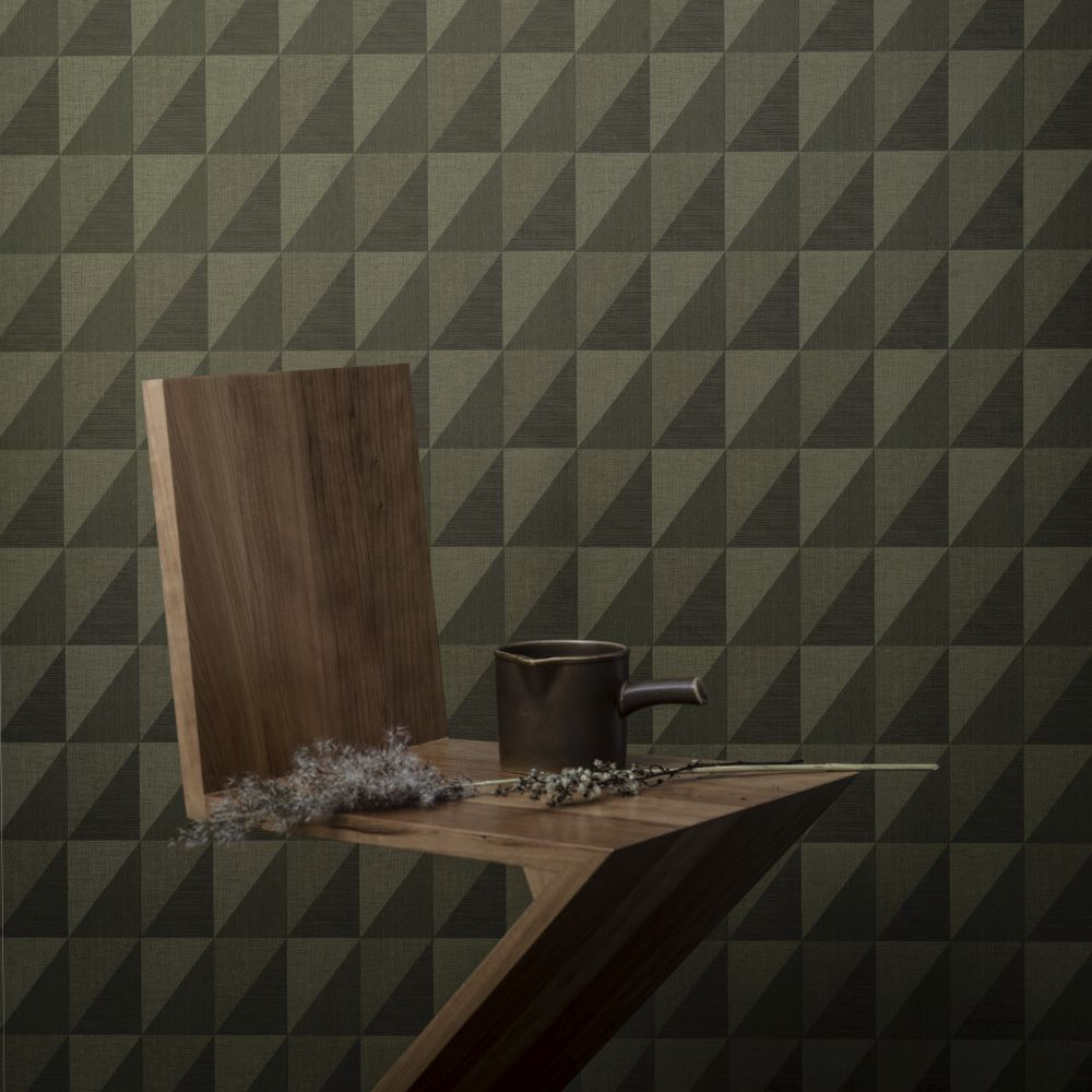 Engblad & Co Plaza Green Wallpaper - Product code: 4553