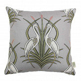 The Chateau by Angel Strawbridge The Chateau Deco Heron Cushion Moat Grey - Product code: HEM/GRE/04545CC