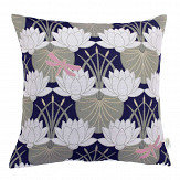 The Chateau by Angel Strawbridge The Chateau Deco Lilypad Cushion Navy Blue - Product code: LIP/NAV/04545CC