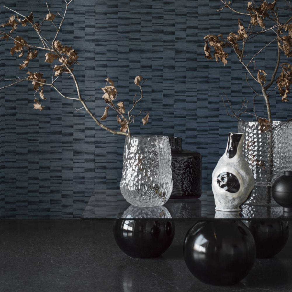 Waterfront Wallpaper - Blue - by Engblad & Co