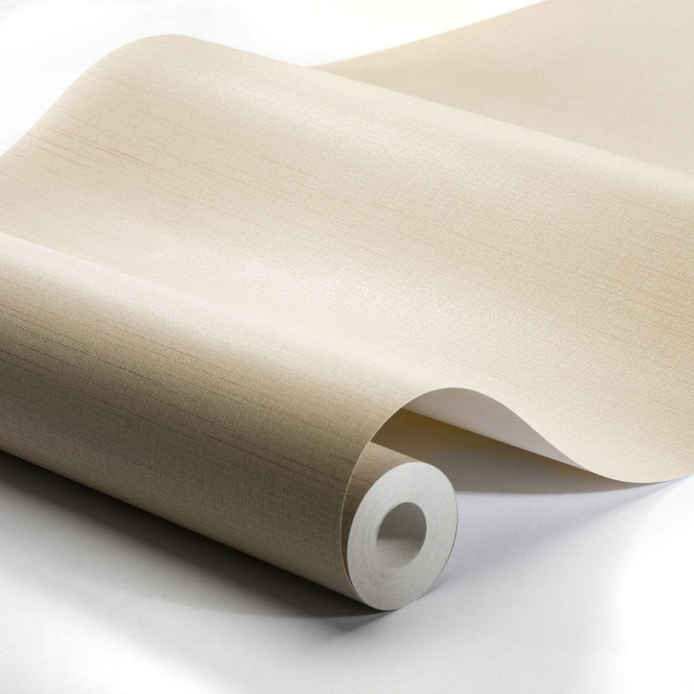 Raw Silk Wallpaper - Beige - by Engblad & Co