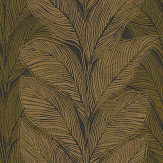 Engblad & Co Urban Jungle Green / Brown Wallpaper - Product code: 4573