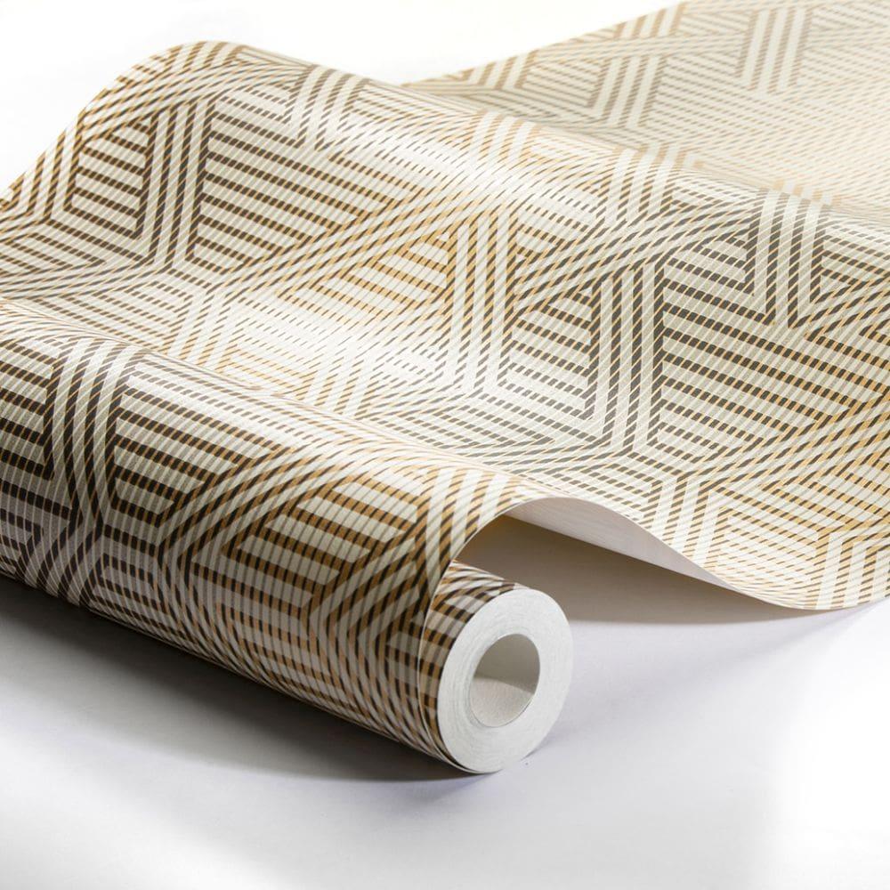 Engblad & Co Skyline Brown / Beige Wallpaper - Product code: 4579