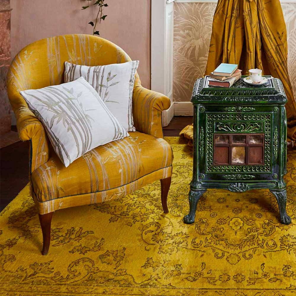 The Chateau by Angel Strawbridge The Chateau Bamboo Cushion Natural - Product code: BAM/NAT/04343CC