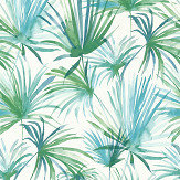 Albany Jungle Fiesta Blue / Green Wallpaper - Product code: 36624-2