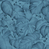 Albany Jungle Trailing Teal Wallpaper - Product code: 36627-1