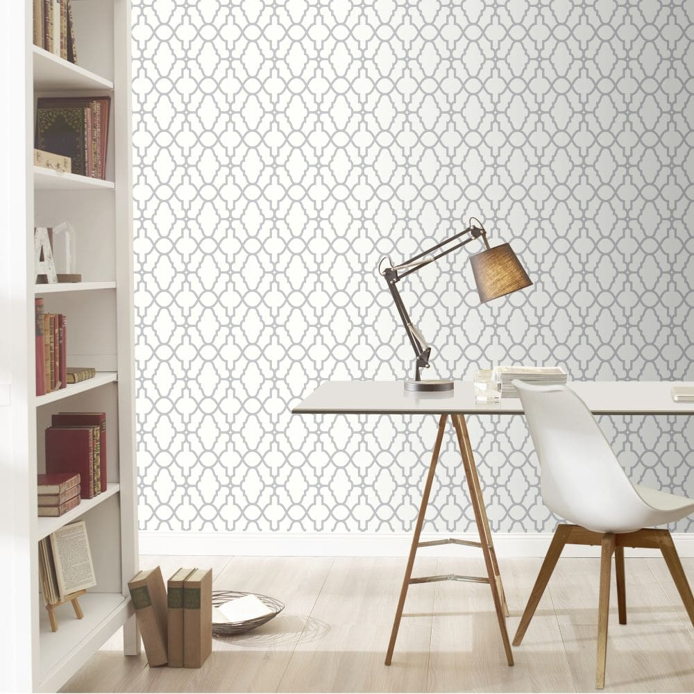 Casablanca Wallpaper - Cotton - by Albany