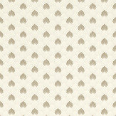 Albany Deco Fan Linen Wallpaper - Product code: 403404