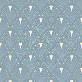 Albany Deco Arch Light Blue Wallpaper