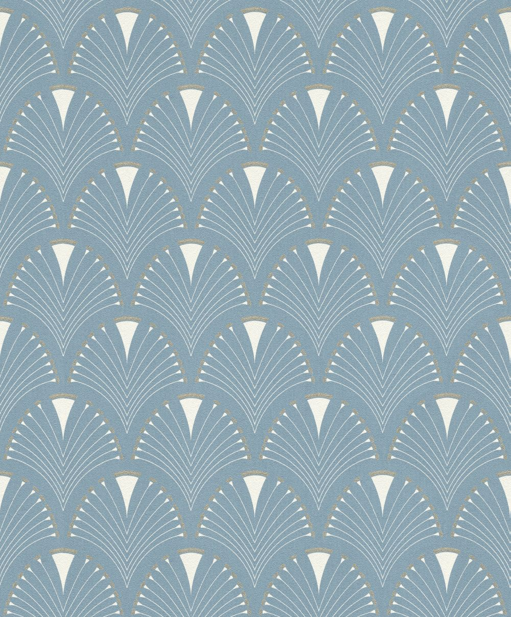 Albany Deco Arch Light Blue Wallpaper - Product code: 433234