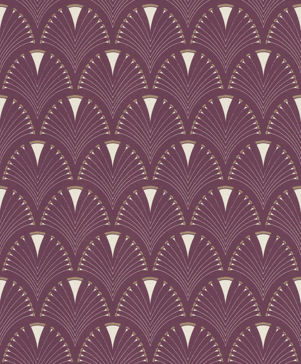 Albany Deco Arch Mauve Wallpaper - Product code: 433241