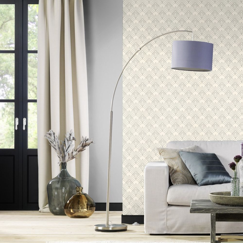 Albany Chrysler Ivory Wallpaper - Product code: 433937