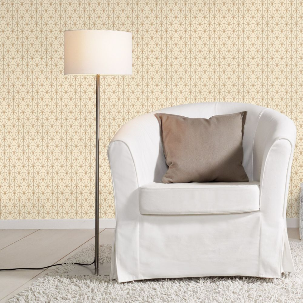 Albany Deco Diamond Cotton Wallpaper - Product code: 434019