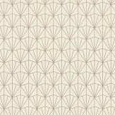 Albany Deco Diamond Linen Wallpaper - Product code: 434040