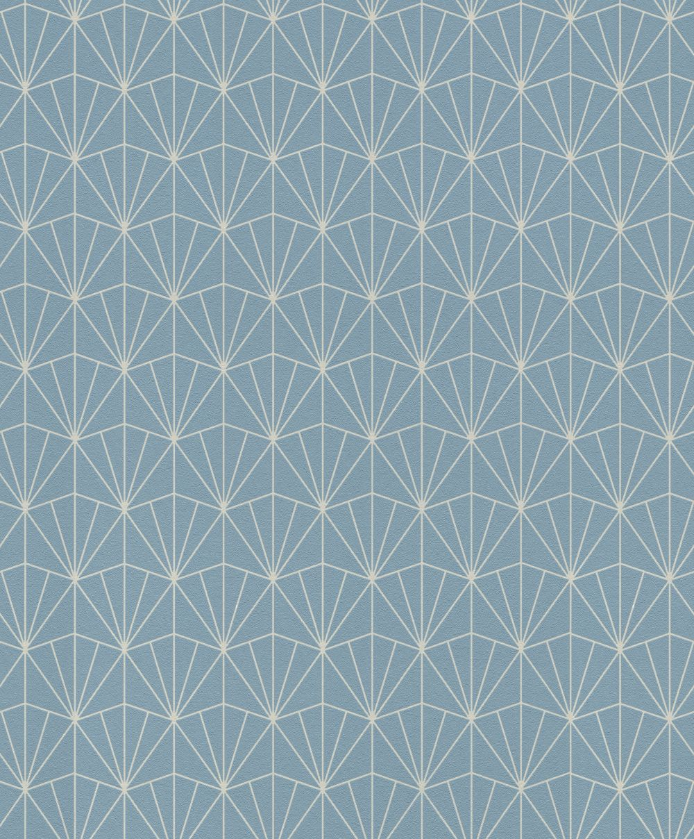 Albany Deco Diamond Light Blue Wallpaper - Product code: 434057