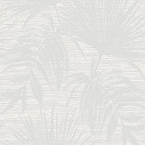 Albany Bambara Leaf Bambara Leaf White Wallpaper - Product code: 65531