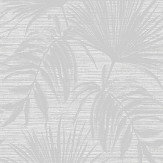 Albany Bambara Leaf Bambara Leaf Grey Wallpaper