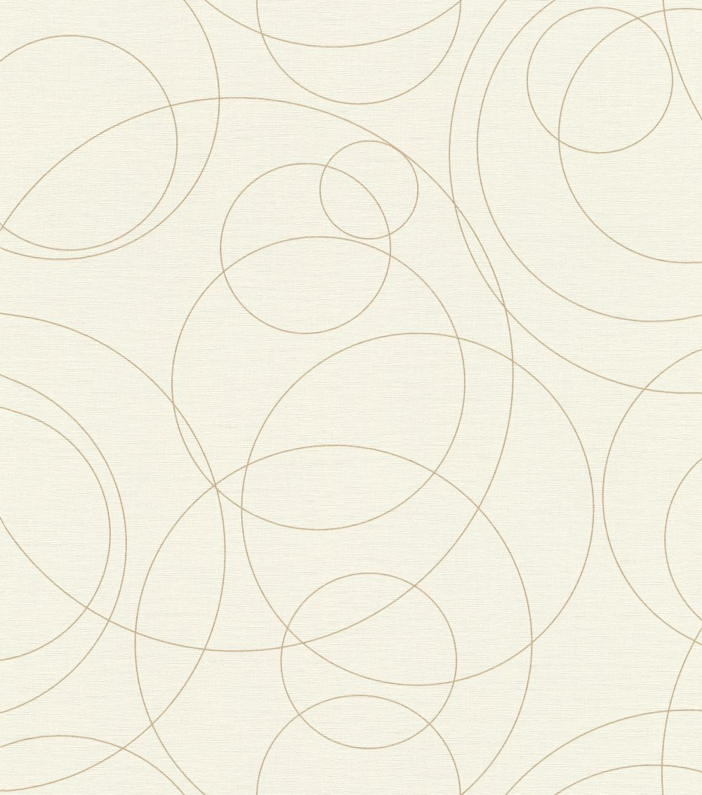Albany Orbit Ivory Wallpaper - Product code: 533002