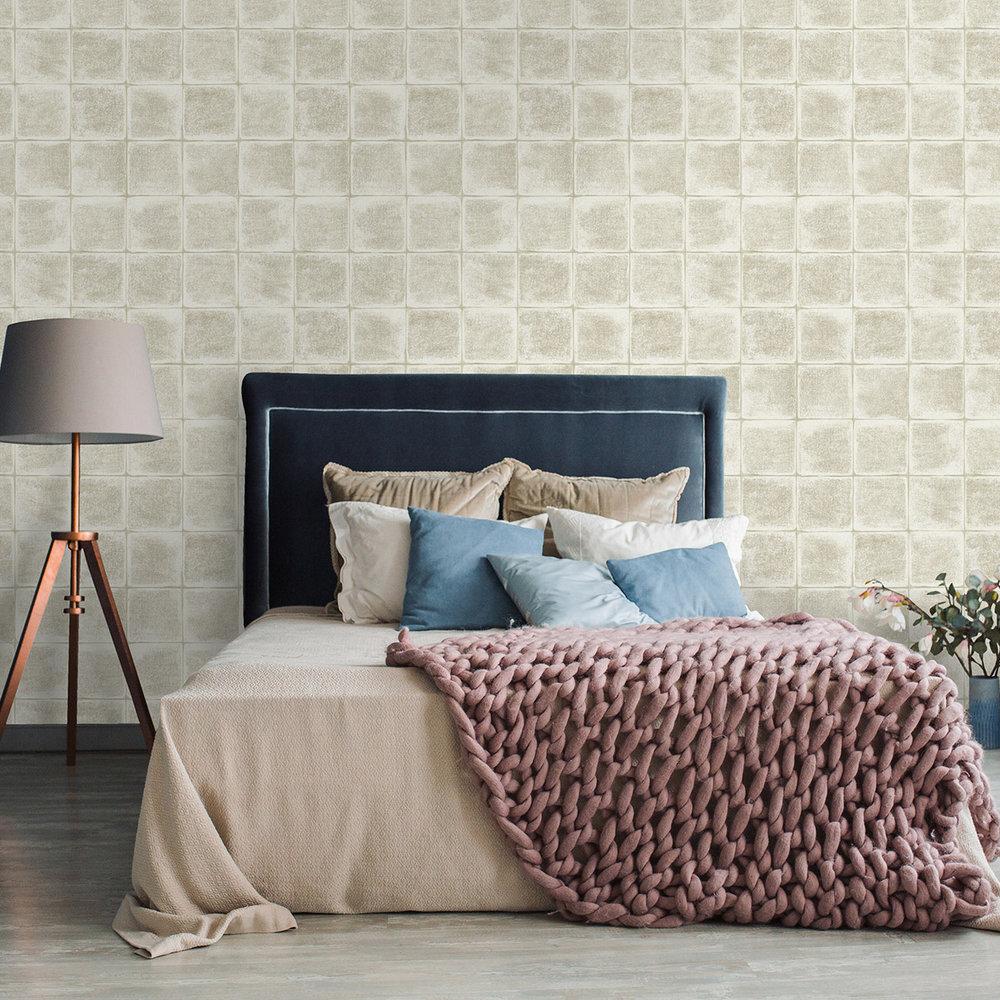 Furano Wallpaper - Furano Taupe - by Albany