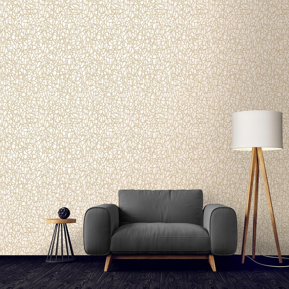 Albany Sakkara Sakkara Cream Wallpaper - Product code: 65582