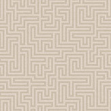 Albany Labyrinth Labyrinth Taupe Wallpaper