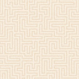 Albany Labyrinth Labyrinth Cream Wallpaper