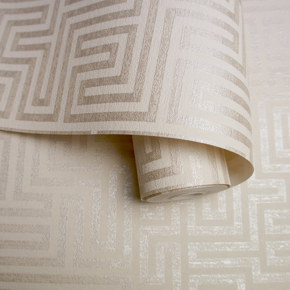 Albany Labyrinth Labyrinth Cream Wallpaper - Product code: 65593