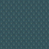 Albany Deco Motif Blue Wallpaper - Product code: 808445