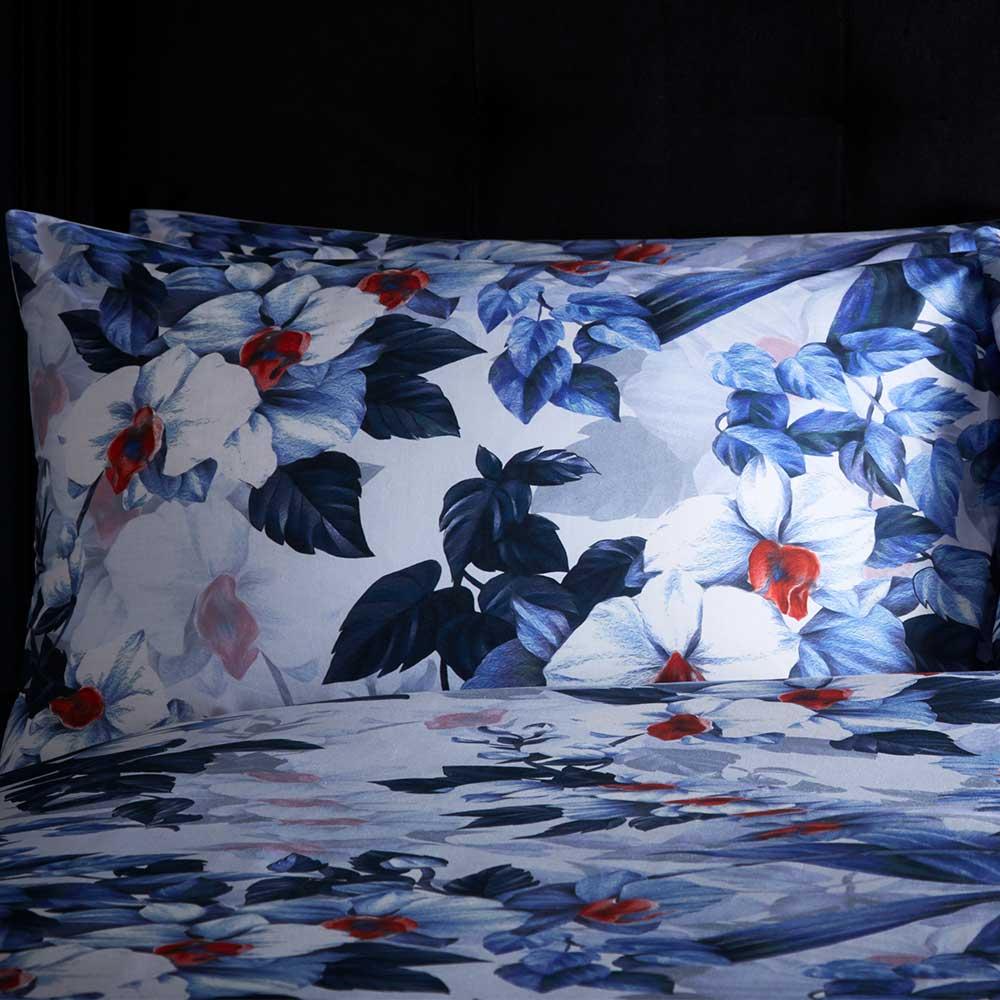 Exotic Duvet Set Duvet Cover - Azure - by Oasis
