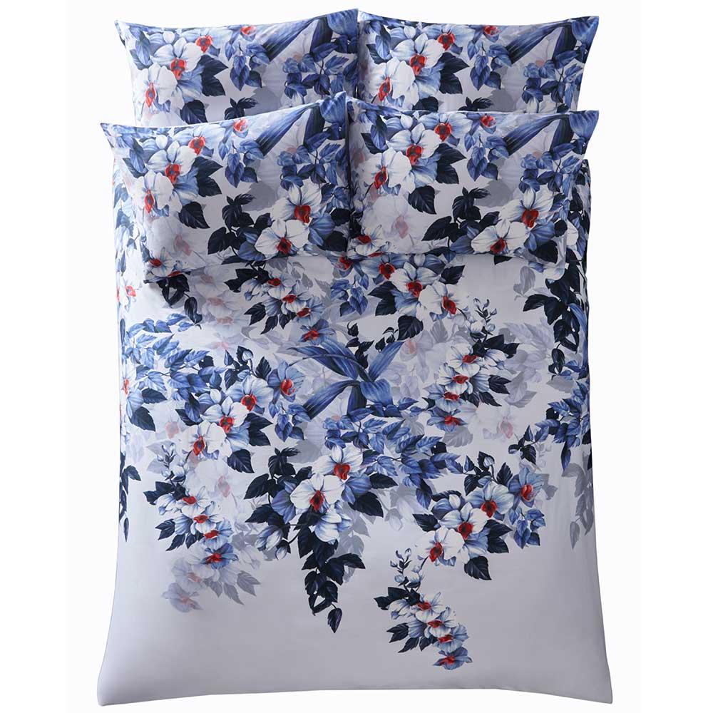 Oasis Exotic Duvet Set Azure Duvet Cover - Product code: M0023/01/SL