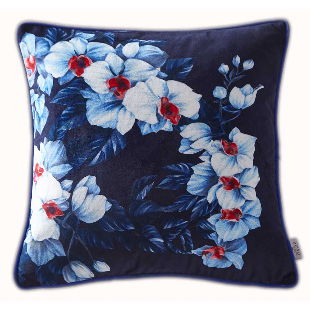 Oasis Exotic Cushion Azure - Product code: M2072/01