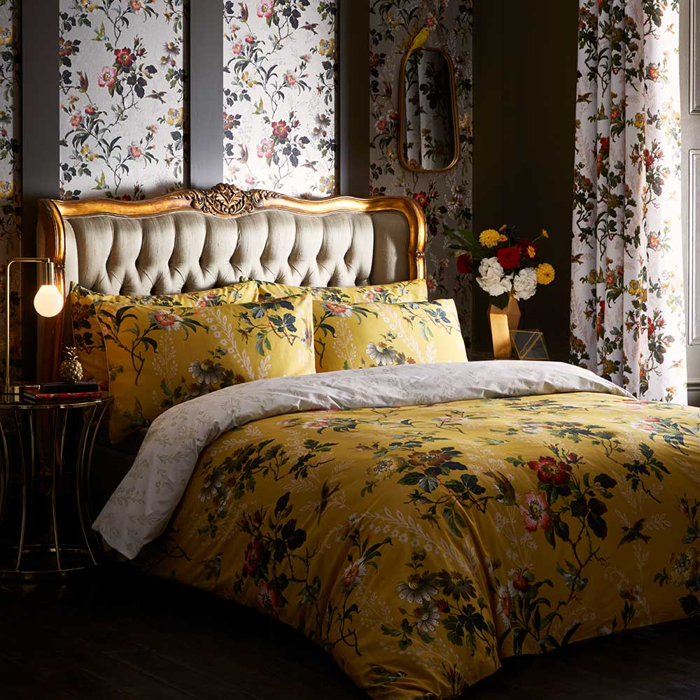 Oasis Leighton Housewife Pillowcase Pair Ochre - Product code: M2028/02