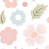 Lilipinso Flowers Bloom Pink Wallpaper - Product code: H0452
