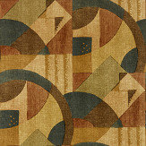 Zoffany Abstract 1928 Antique Copper Wallpaper - Product code: 312888