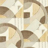 Zoffany Abstract 1928 Taupe Wallpaper - Product code: 312889