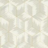 Zoffany Tumbling Blocks Empire Grey Wallpaper - Product code: 312891
