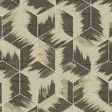Zoffany Tumbling Blocks Stone Wallpaper - Product code: 312892