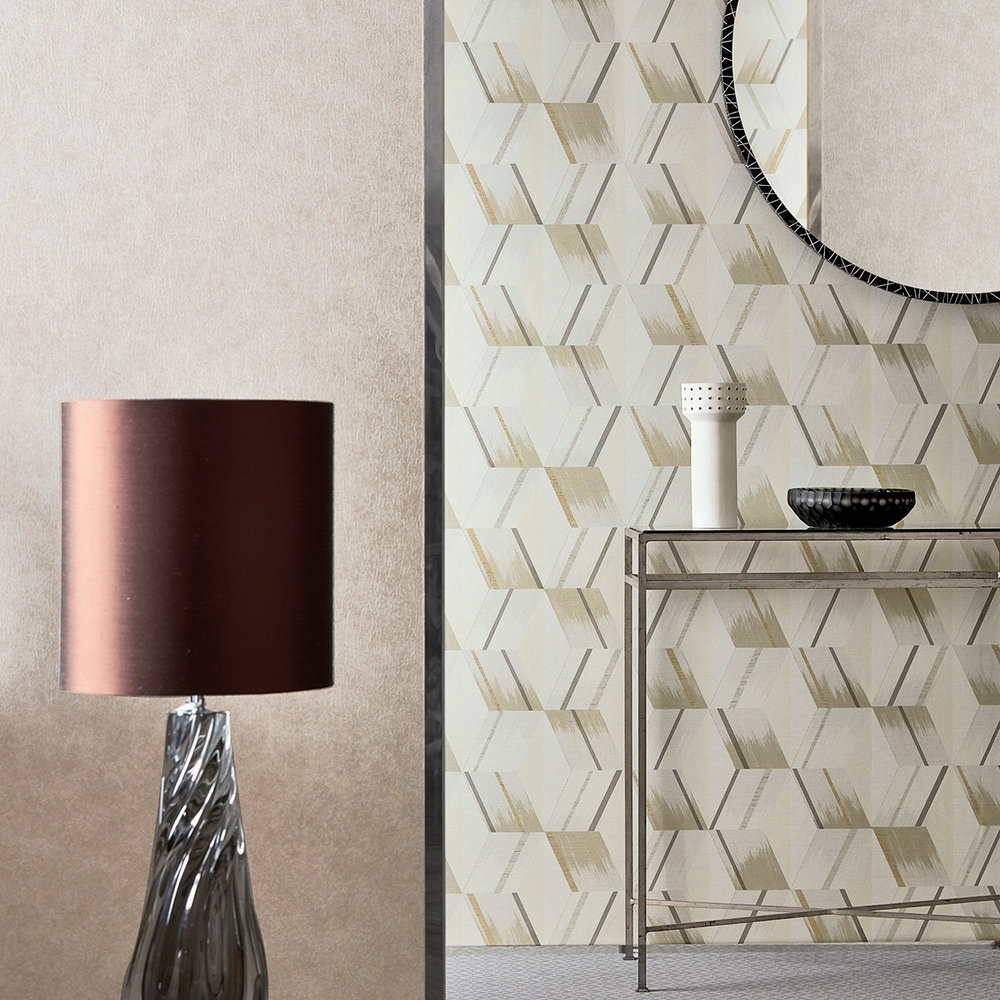 Zoffany Rhombi Paris Grey Wallpaper - Product code: 312896